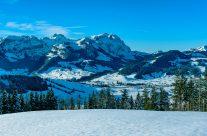 Alpstein im Schnee