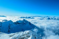 Nebelmeer  auf 2300m