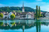 Auch ist hier die älteste Gottesdienststätte des Kantons Schaffhausen zu finden