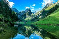Die Erstnennung von 1682 bezeichnet ihn als See Alper See.[