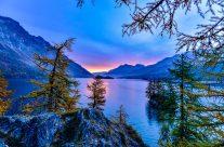 Die Schönheit des Bergsees lässt nicht nur die Herzen von Wanderern höher schlagen.