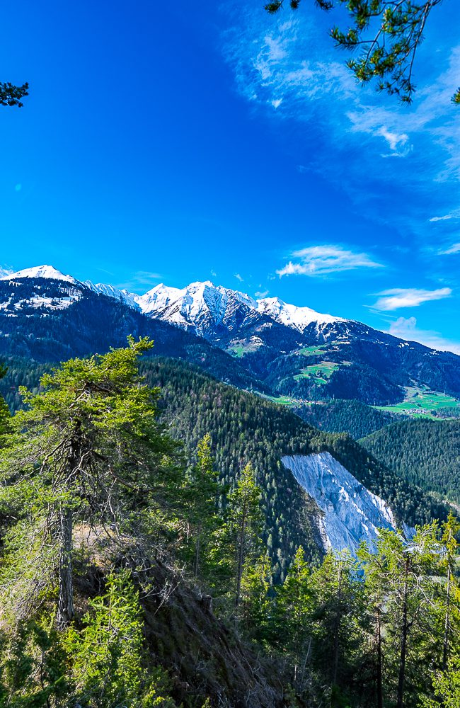 Die Rheinschlucht zwischen Reichenau und Ilanz wird nicht umsonst als «Swiss Grand Canyon» bezeichnet