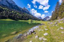 Der malerische Sämtisersee liegt oberhalb von Brülisau