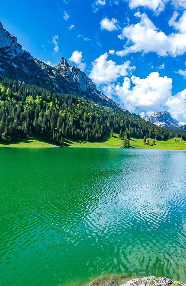 Einfache Halbtagesrundwanderung im Kanton Appenzell Innerrhoden zum Sämtisersee