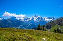 Atemberaubende Aussichten, eindrückliche Bergwelt,