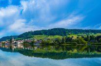 Da, wo der Bodensee wieder zum Rhein wird, liegt das Städtchen Stein am Rhein