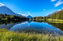 Arnisee einer der schönsten  Begssee der  Schweiz