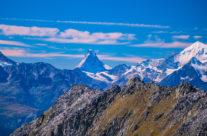 Blick vom  Eggishorn zum  Matterhorn