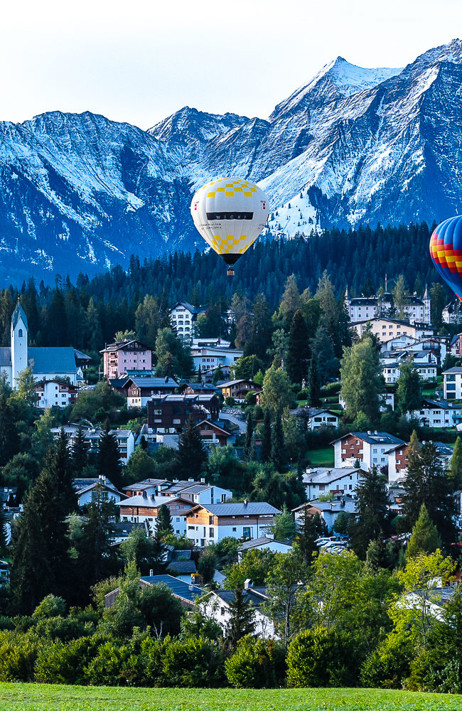 Ballonwoche im October in Flims