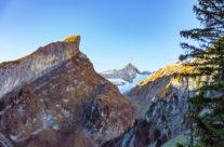 Alpstein mit dem  Säntis
